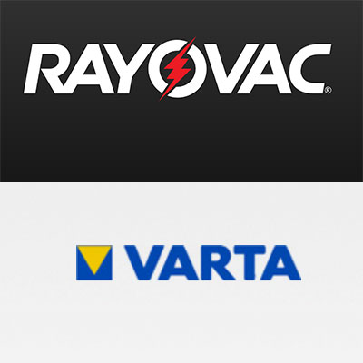 RAYOVAC & VARTA